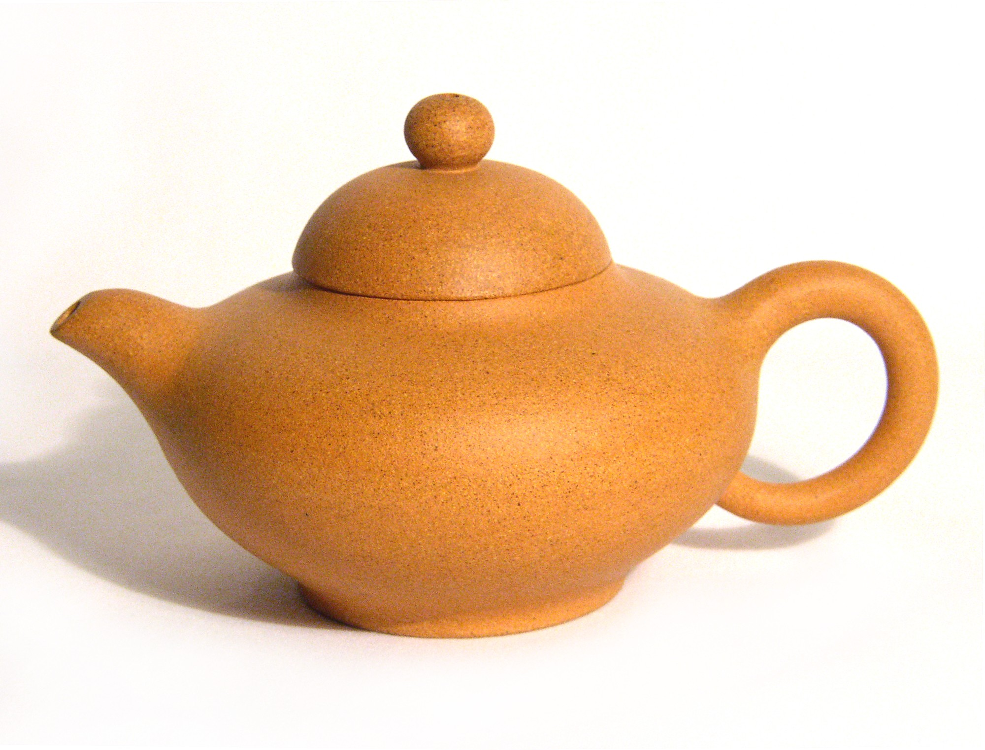Yixing / Purple Clay Teapot - Sandy Beach