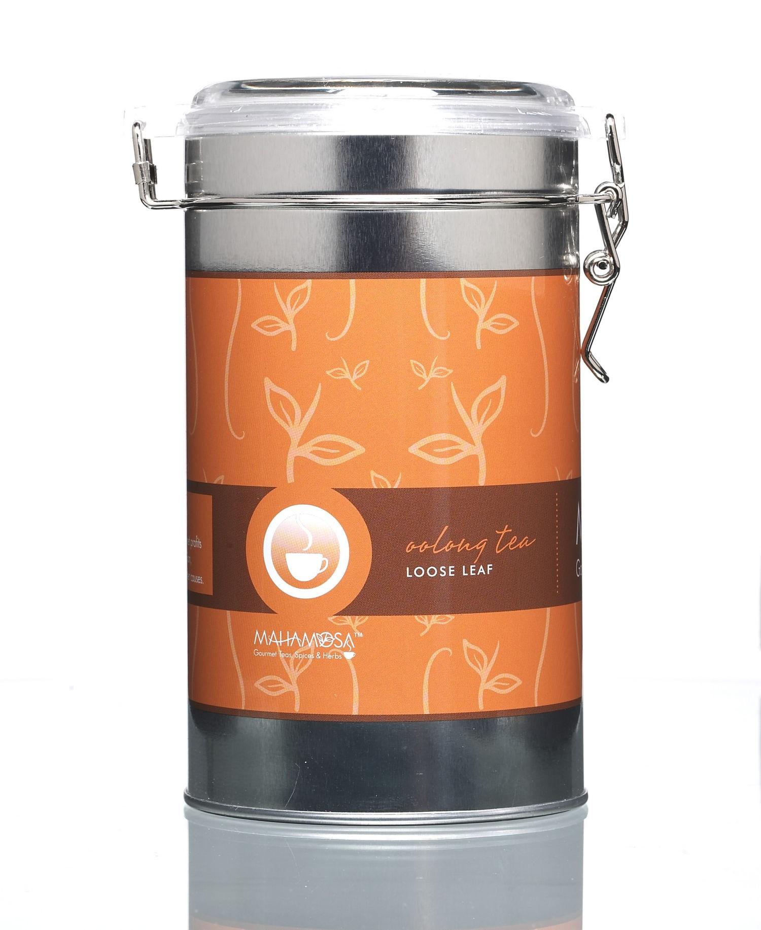 Oolong Tea Tall Tin