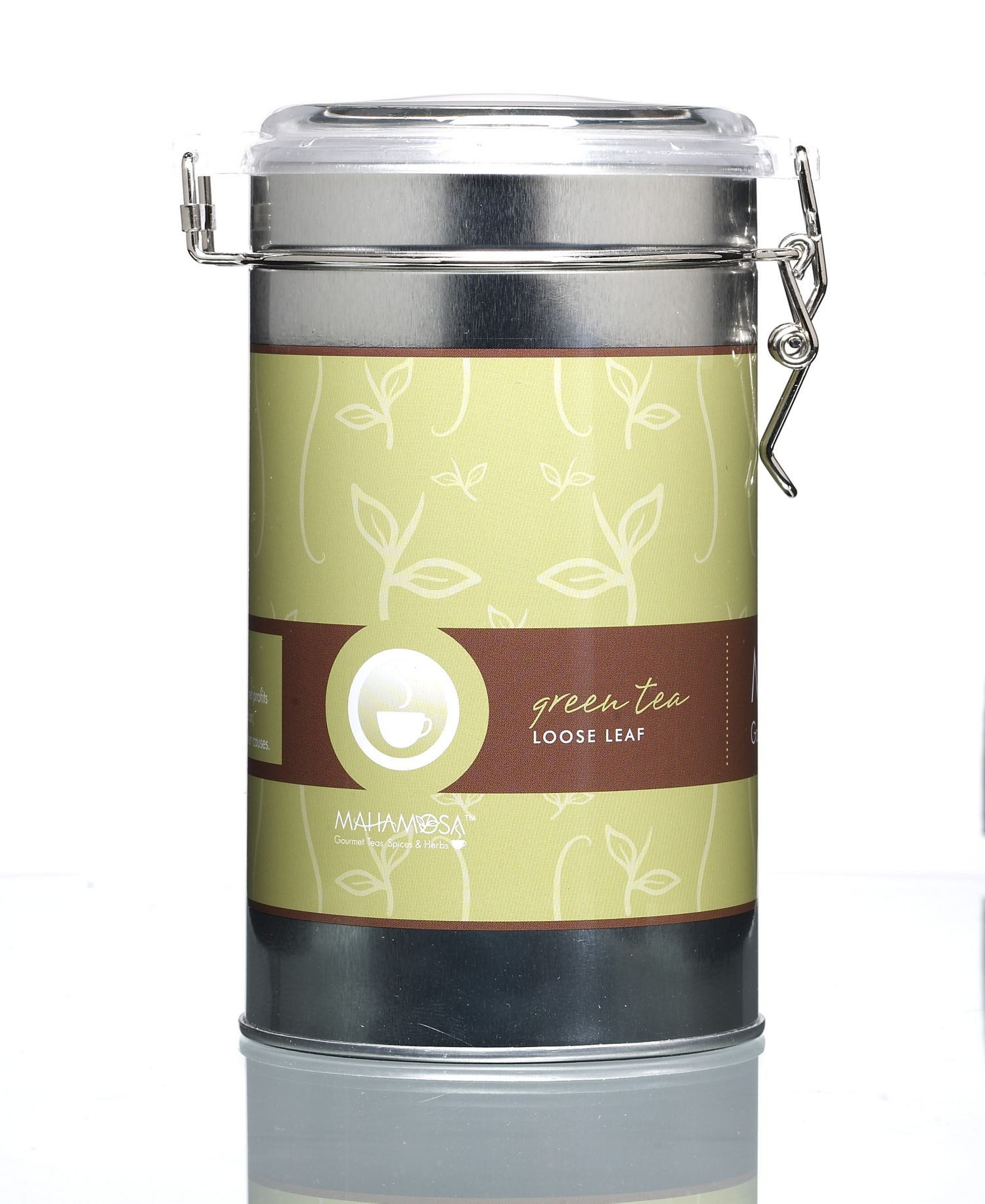 Green Tea Tall Tin